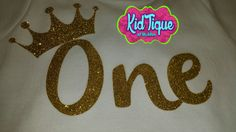 One birthday shirt available in any age or theme glitzy glitter shirts