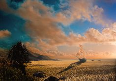 Hyperion: The Sea of Grass  by *nathanspotts