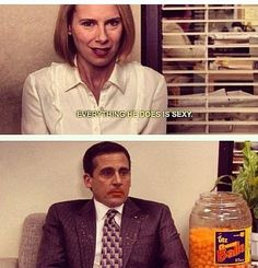 Michael and Holly. The Office.