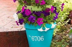 Give your front porch a fresh and colorful facelift with this stacked planter project.