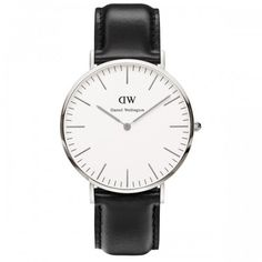 Daniel Wellington 0206DW Classic Sheffield Gents Black Leather Watch €179 from Thomas Gear Jewellers, Ilac Centre, Henry Street, Dublin 1