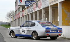 Ford Capri RS2600 Group 2 Competition Coupe