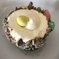 Chocolate Easter Egg Cupcake