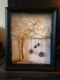 Unique Personalized Customized Shadow Box by EclaireShadowboxes, $60.00