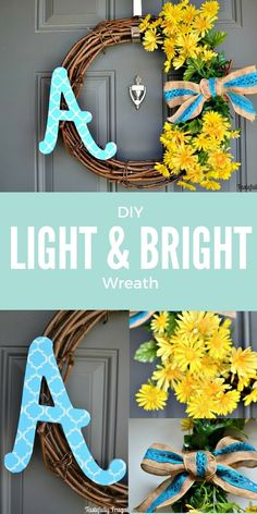Light & Bright DIY W