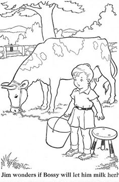 Free Printable Farm Coloring Pages | Farm coloring pages | Ideas for ...