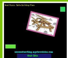Wood Picnic Table Building Plans 151509 - Woodworking Plans and Projects!
