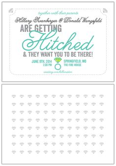 Love these fun wedding invites! Win these and more with $500 from Paper Muse Press here http://woobox.com/8aney9