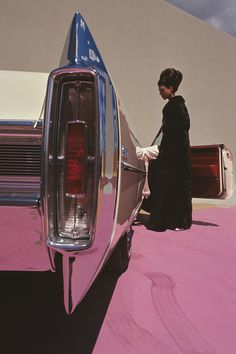 Cadillac de Ville • for Vogue, 1964 • Gene Laurents