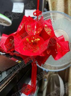 红包手工灯笼