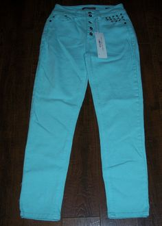 NWT UNIONBAY HIGH RISE CARLY STUDDED SKINNY JEANS, SZ 5. EXCELLENT CONDITION! #UNIONBAY #SlimSkinny