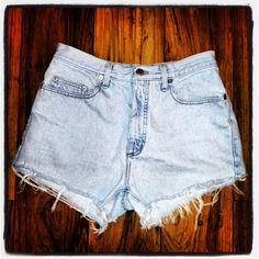 High waisted shorts on Etsy, $21.00