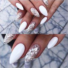Nageldesign Nail Art Nagellack Gelnägel Acryl # Nail design nail art vernis à ongles gel ongles acrylique # - - # Gelnägel à ongle Acrylic Nails Stiletto, Acrylic Nail Art, Acrylic Nail Designs, Nail Art Designs, Gel Nail Art, Nail Nail, Nails Design, White Nail Designs, Nail Polishes