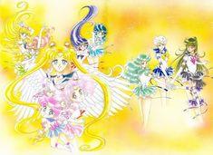 Naoko Takeuchi, Bishoujo Senshi Sailor Moon, Sailor Saturn, Minako Aino, Sailor Jupiter