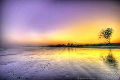 Sunset Hua Hin beach Thailand 3