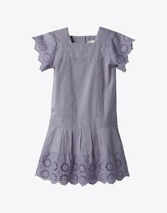 could use eyelet like this with the Croquet Dress (hint: new pattern for Spring 2012--stay tuned!)