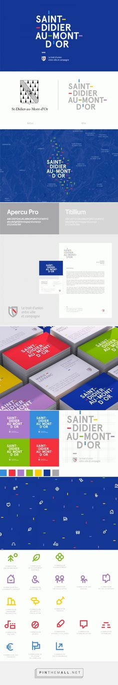 Graphic Design - Institutional identity inspiration - City