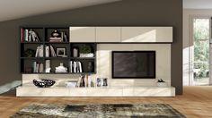 FLUIDA - модуль365 изде́лий Indipendent living rooms by Scavolini