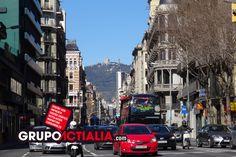 Carrer Balmes, Barcelona. Grup Actialia ofrece sus servicios en Barcelona: Diseño web, Diseño gráfico, Imprenta y Rotulación. www.grupoactialia.com