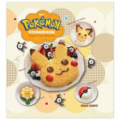 Fool kids into eating things like cabbage, omelets, and even sushi, thanks to the Pokémon Cookbook's sneaky food art instructions.