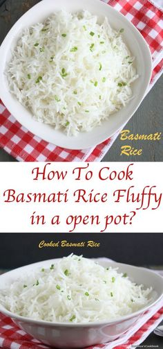 How To Cook Perfect Basmati Rice in a Pan | Fluffy Basmati Rice