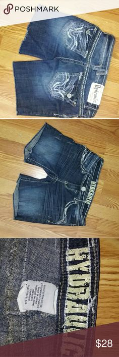 Hydraulic Jean shorts Excellent condition Hydraulic Shorts Jean Shorts