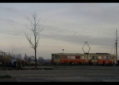 A tram to live in.     NDSM werf, Amsterdam