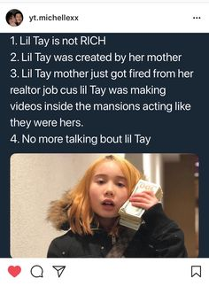 10fb780e485 Like don t get me wrong I didn t like lil Tay too but