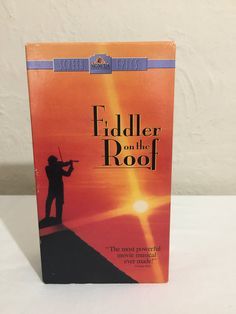 Fiddler On The Roof VHS Tape Movie - 1971 MGM United Artists Home Video M305841 Digitally Remastered Edition Movie Musical Classic by NostalgiaRocks