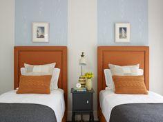 contemporary bedroom by Tim Clarke Design