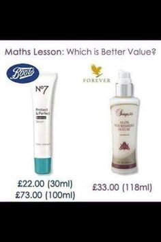 Forever Sonya Aloe Nourishing Serum A breakthrough in anti-ageing technology using superior ingredients including aloe vera, fruit extracts, white tea vitamin E, Mimosa bark extract and hyalauronic acid. Forever Living Aloe Vera, Forever Aloe, Forever Living Business, Things To Come, Good Things, Forever Living Products, Moisturiser, Health And Wellbeing, Math Lessons