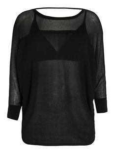 TOP BARDO - CRIS BARROS - PRETO - Shop2gether