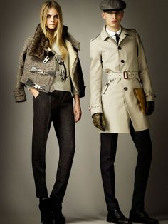 cara delevingne for burberry