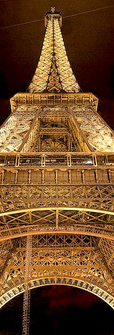 Tour de l'or. . . Tour Eiffel, Pari par Matthew Fox