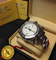Breitling Emergency Mission White Dial A73321 - B&P - Just Serviced - 2003 - in Jewellery & Watches, Watches, Wristwatches | eBay