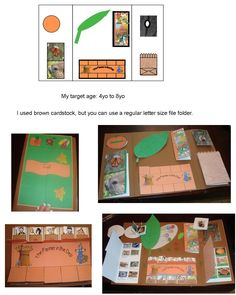 pumpkin lapbook for younger children