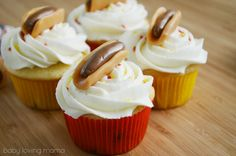 Hot Dog Party Cupcakes Tutorial