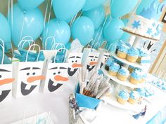 Frozen Party- 5th Birthday Birthday Party Ideas | Photo 1 of 16 | Catch My Party