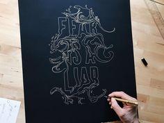 Matt Anderson Classy Fonts, Matt Anderson, Art Quotes, Lettering, Type, Instagram, Decor, Decoration, Drawing Letters