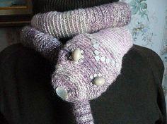 Crochet scarf snake scarf animal scarf funny scarf crochet