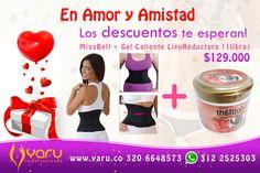 Promoción Faja Miss Belt + Gel Liporeductora WhatsApp (57) 320 6648573 - WhatsApp (57) 312 2525303 info@yaru.co - www.yaru.co Fajas de Latex Originales Colombianas, Faja 70 30,  Faja MissBelt, Faja Xtreme PowerBelt, Chaleco de Latex, Faja Cintura De Avispa, Faja Yayita Envios de productos importados y nacionales por Servientrega , a toda Colombia, DHL Internacional. Fajas para Mujer y Hombre de compresión y termicas, Gel Reductora.