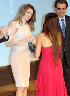 Doña Letizia en el tercer Forum Impulsa que organiza la Fundación Príncipe de Girona 2012