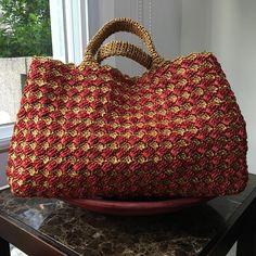 bf31add28 #raffiahandbag#crochetbag#crocheteveryday #instadaily #lookbook #tote Bolsa  De Palha,