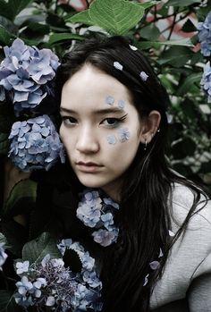 Mona Matsuoka in Junk Magazine photographed by Gen Kay
