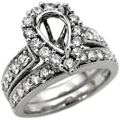 25th Wedding Anniversary Ring Ideas : ring ring ideas bling bling forward semi mount robot check see more ...