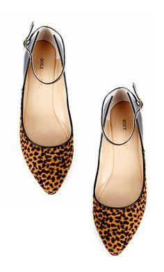 a75b81fe6183 Leopard Flats Chic Chic, Radley Bags, Pretty Shoes, Cute Shoes, Me Too