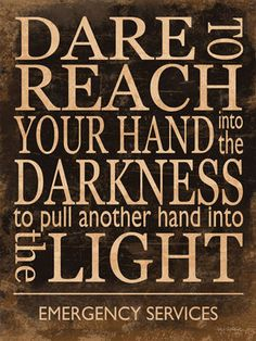Dare to Reach by Kathy Middlebrook EMS Dispatchers Print Poster 12x16 | eBay