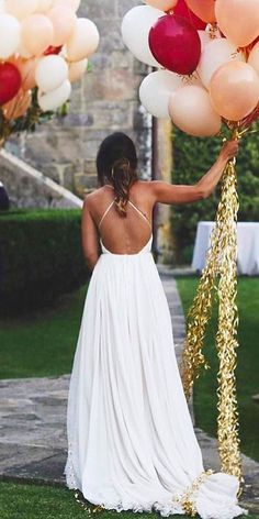 21 Fascinating Open Back Wedding Dresses Open Back Wedding Dress, Wedding Dress Chiffon, Lace Mermaid Wedding Dress, Sexy Wedding Dresses, Perfect Wedding Dress, Wedding Gowns, Dream Wedding, Classic Wedding Hair, Unconventional Wedding Dress