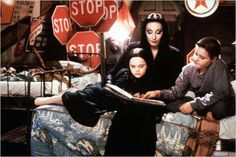 La Famille Addams : Photo Anjelica Huston, Barry Sonnenfeld, Christina Ricci, Jimmy Workman