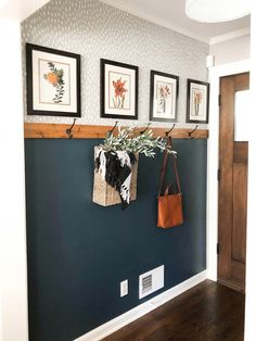 DIY Home Decor 836402962032936831 - Simple & Affordable Fall Entryway Home Renovation, Home Remodeling, Closet Renovation, Decoration Entree, Simple Home Decoration, Diy Casa, Home And Living, Dark Living Rooms, Cottage Living Rooms